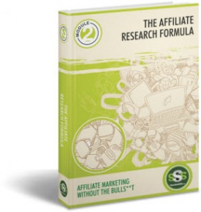 THE Affiliate Research Formula