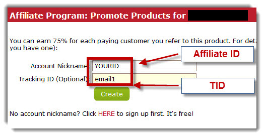 Clickbank Tracking ID