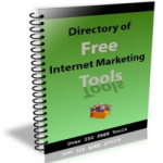 Directory of Free Internet Marketing Tools