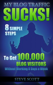 8 Simple Steps to Get 100,00 Blog Visitors without Working 8 Days a Week