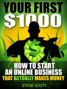 Free eBook - Your First $1000